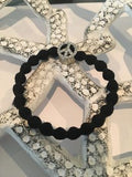 Peace Symbol Bracelet Peace Black Hairband