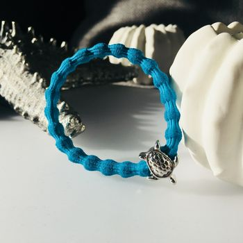 Turtle Bracelet Turquoise Turtle Hairband