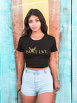 "Women's  ""Unboxed Logo"" Crop Tee"