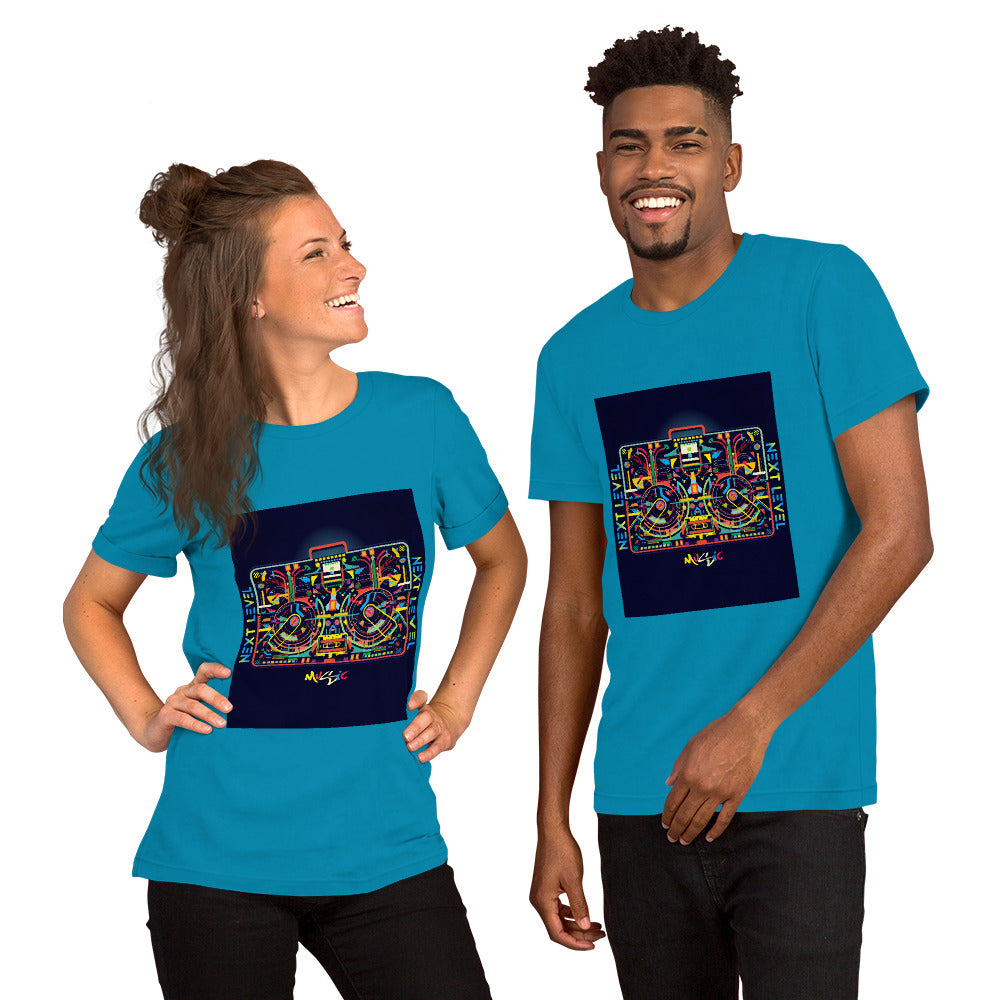"Unisex ""Music Box"" Short-Sleeve  T-Shirt"
