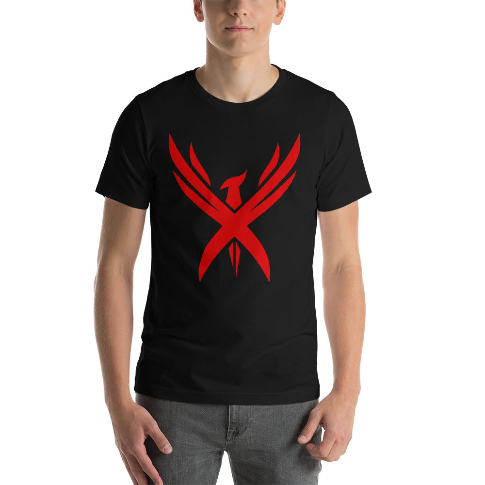 "Unisex Limited Edition ""Crimson Phoenix"" Short-Sleeve T-Shirt"