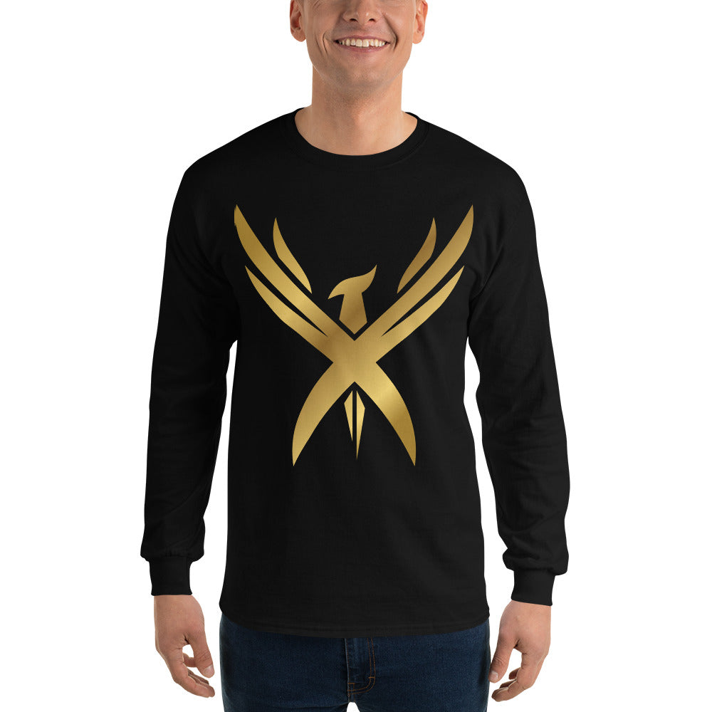 "Men's ""Golden Phoenix"" Long Sleeve T-Shirt"