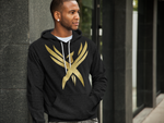 "Men's Hooded ""Golden Phoenix"" Sweatshirt"