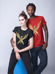 "Unisex ""Golden Phoenix"" Short-Sleeve T-Shirt"