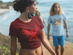 "Women's Limited Edition ""Crimson Phoenix""  Crop Tee"