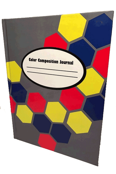 The Color Jones Hardcover Journal with Colored Paper (Hex Cover)