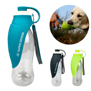 24cornershop-com - The 24 Portable Water Drinking Bottle For Dogs - 580ml - 24cornershop.com -