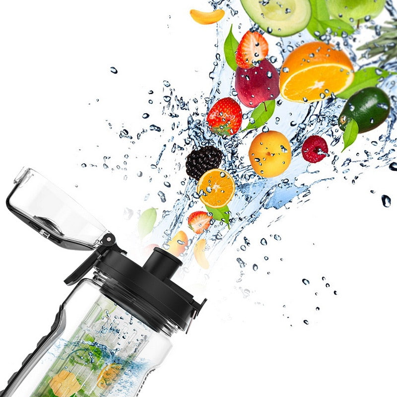 24cornershop-com - The 24 Portable Fruit Infuser Water Bottle 750ml - 1000ml - 24cornershop.com -