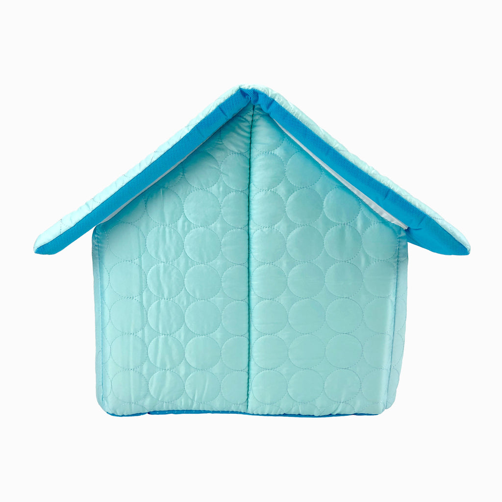 Cotton Candy Dog House - Blue