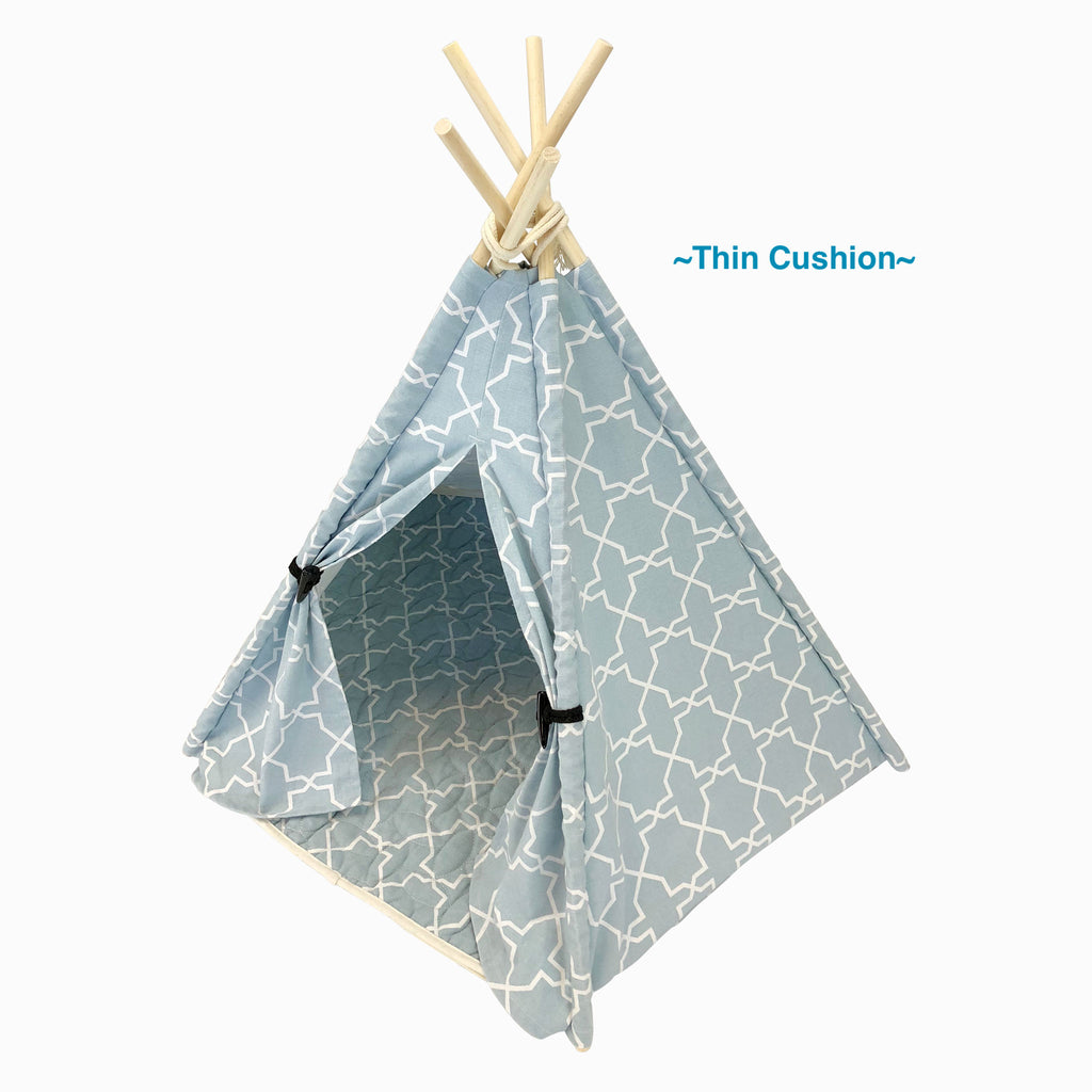 Classy Blue Teepee Bed