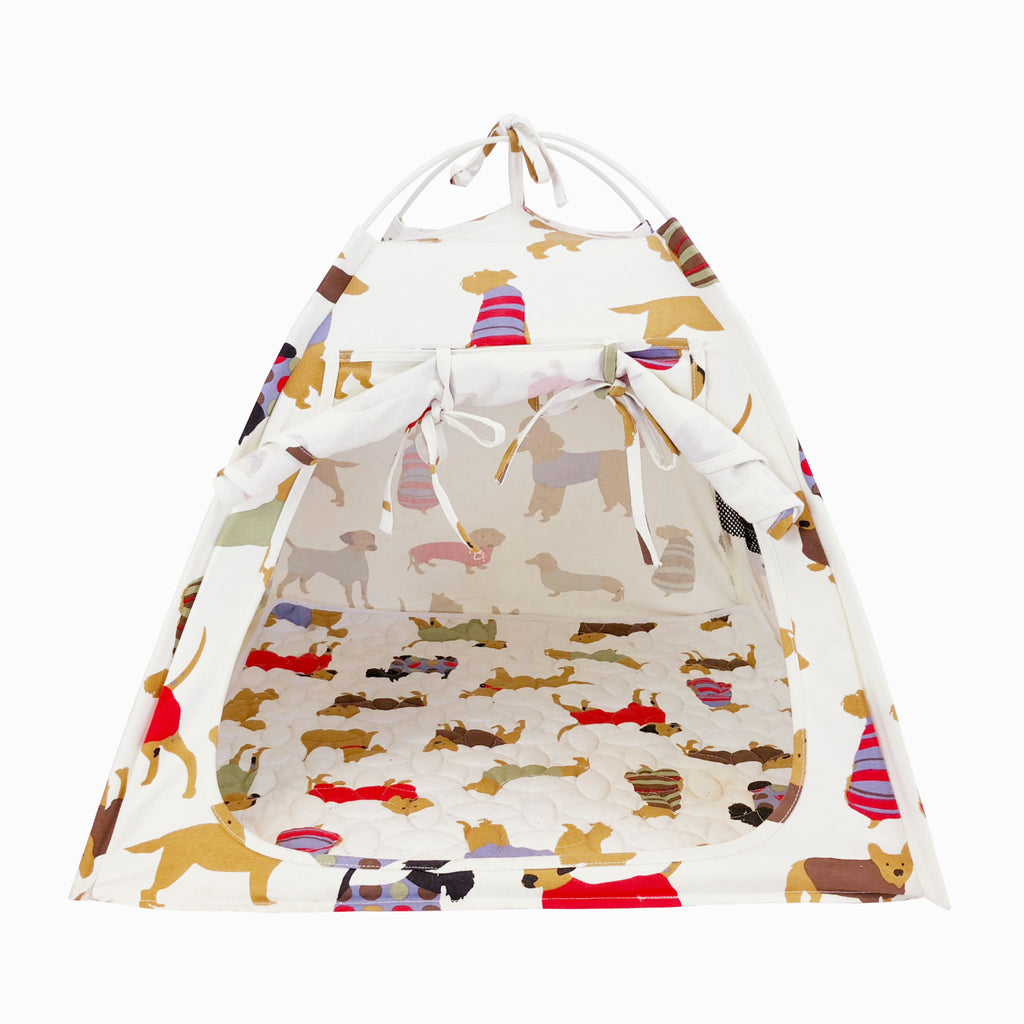 Dog Tent w/ Memory Foam Cushion