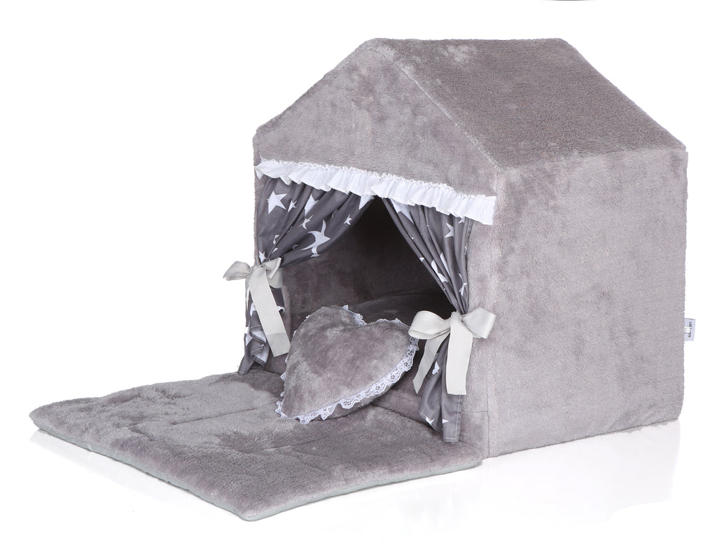 GRAY ASTRO DOG HOUSE