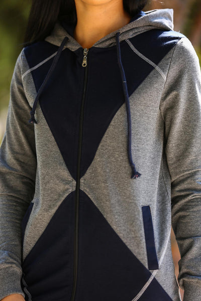 Hooded Anthracite Sweat - Hobbies Finder