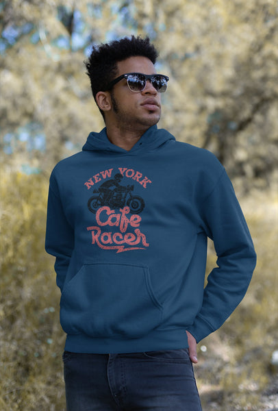 New York Motorcycle Design Unisex hoodie for Men