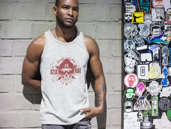 RED Skull Design Classic tank top (unisex)
