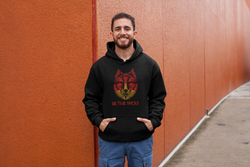 Be The Wolf Unisex Hoodie for Men