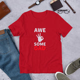 Awesome DAD design Short-Sleeve Unisex T-Shirt