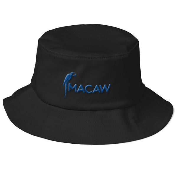 Macaw Logo Old School Bucket Hat