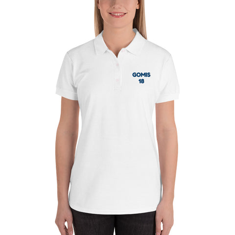 GOMIS 18 Embroidered Women's Polo Shirt