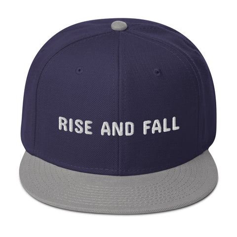 RISE AND FALL Snapback Hat - Hobbies Finder