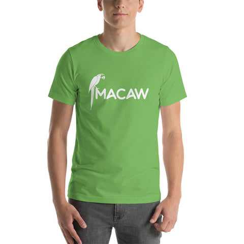 Beautiful Macaw design for unique and comfortable men T-shirt - Hobbies Finder