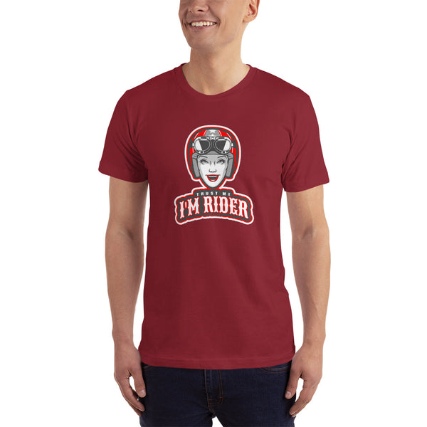 Trust Me I'm Rider T-Shirt for Men - Hobbies Finder