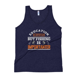 Fishing Design Unisex Tank Top - Hobbies Finder