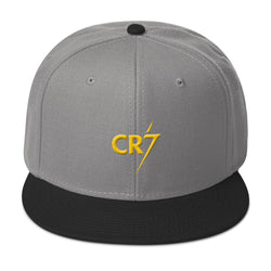 Cristiano Ronaldo CR7 Snapback Hat Made in USA - Hobbies Finder