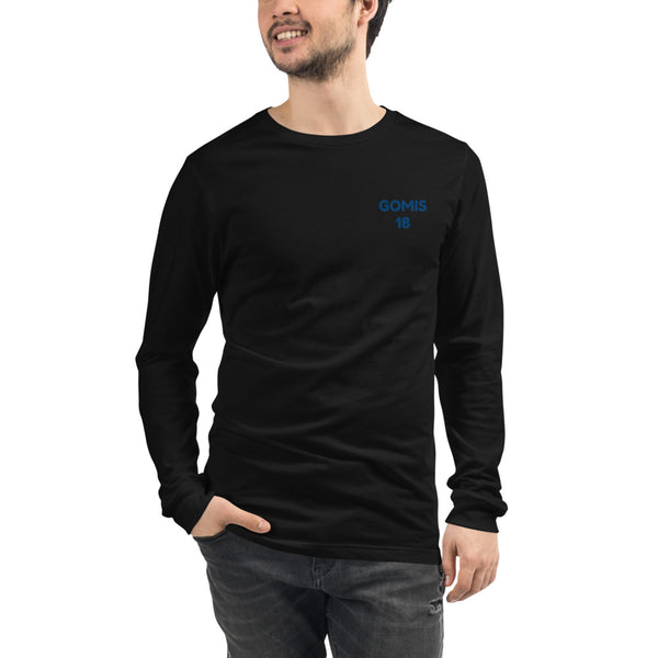 GOMIS 18 Unisex Long Sleeve Tee