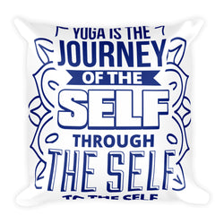 Yoga lifestyle Basic Pillow - Hobbies Finder