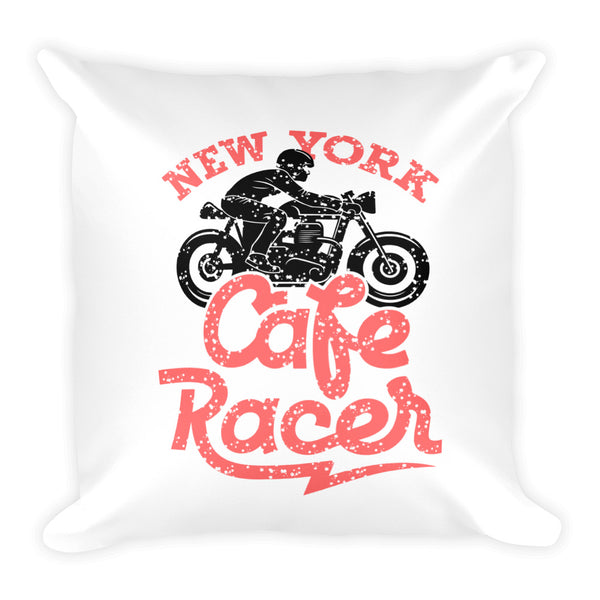 New York Riders Design Basic Pillow - Hobbies Finder