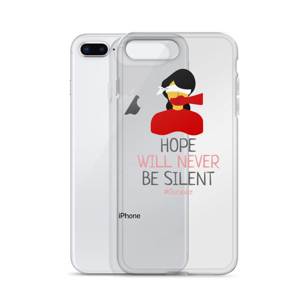 Hope Will Never Be Silent Design for iPhone Case