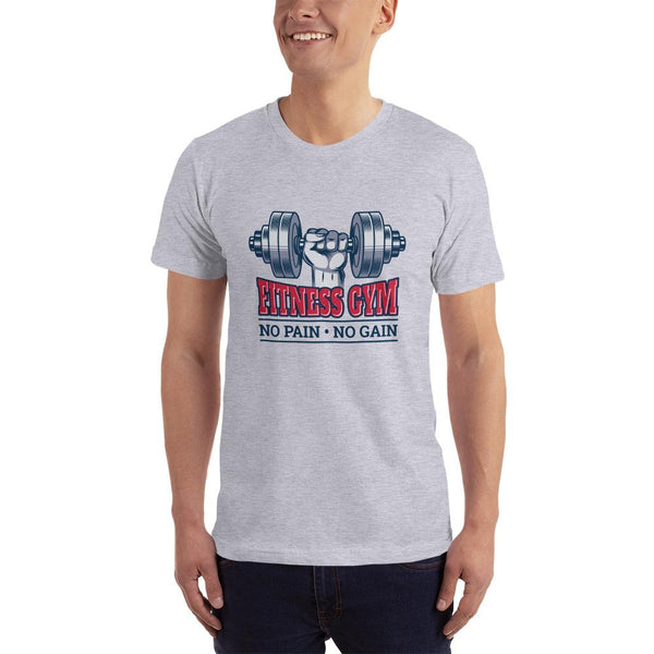 No Pain No Gain Short-Sleeve T-Shirt for Men - Hobbies Finder