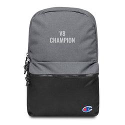 V8 Champion Embroidered Champion Backpack Made in USA - Hobbies Finder
