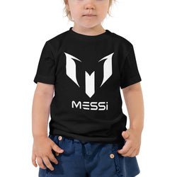Messi Logo Design Toddler Short Sleeve Tee - Hobbies Finder