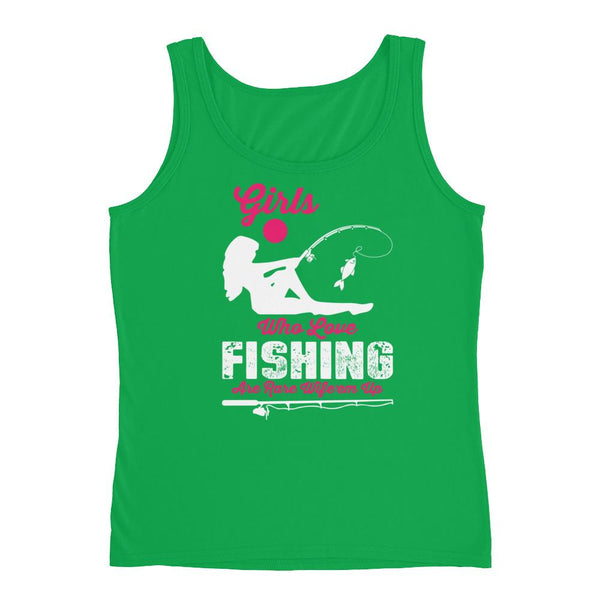 Girls who loves fishing are rare ,check new Ladies' Tank for Fishing hobby. - Hobbies Finder