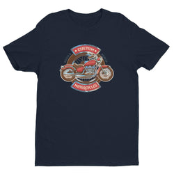 NEW Design Custom Motorcycle Short Sleeve T-shirt for Men