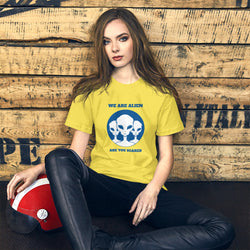 WE Are Alien? Short-Sleeve Unisex T-Shirt for Women