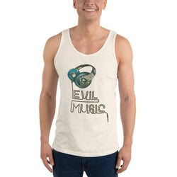 Evil Music Design Unisex Tank Top for Men