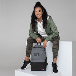 BTS Design Embroidered Champion Backpack Made in USA