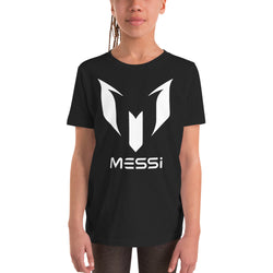 Messi Logo Design for Youth Short Sleeve T-Shirt - Hobbies Finder