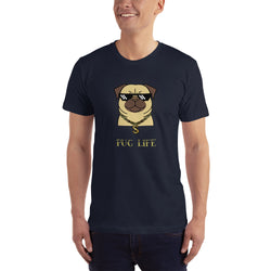 PUG LIFE Design for Dogs Lovers T-Shirt for Men
