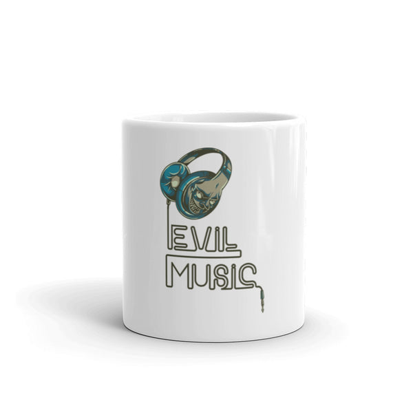 Evil Music Design Mug - Hobbies Finder