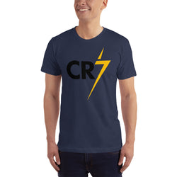 Cristiano Ronaldo CR7 Short-Sleeve T-Shirt for Men - Hobbies Finder