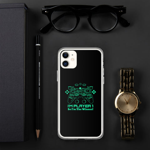 I'M PLAYER ONE Design for iPhone Cases - Hobbies Finder