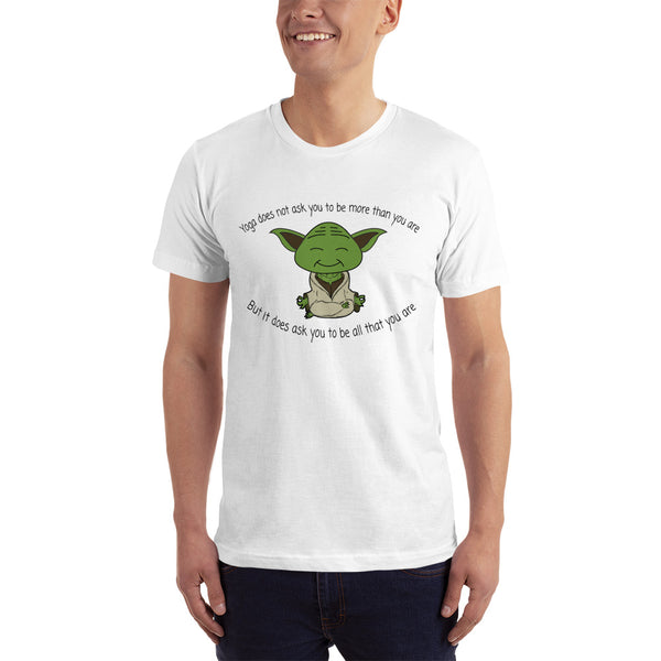 NEW Yoga Design Short-Sleeve T-Shirt for Men. - Hobbies Finder