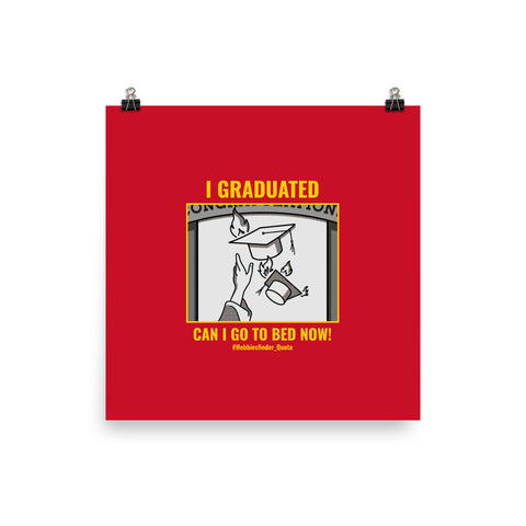 I graduated design Poster for new graduate students wish you bright future - Hobbies Finder