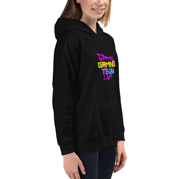 Gaming Team Kids Hoodie - Hobbies Finder