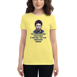 Messi Quote Women's short sleeve t-shirt