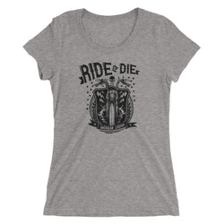 Ride Or Die Ladies' short sleeve t-shirt